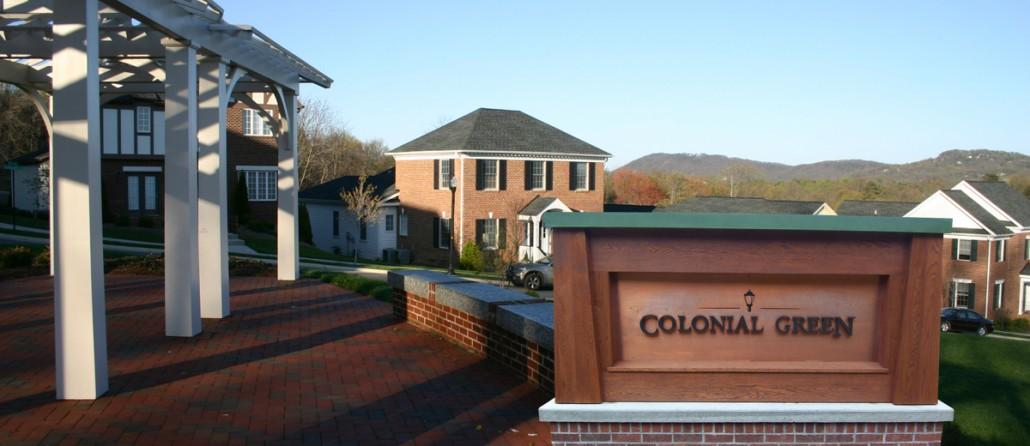 Colonial Green Roanoke Progress