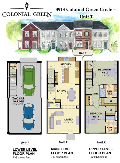 Catchy Collections Of 4 Unit Townhouse Plans Fabulous
